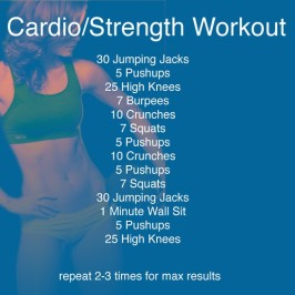Cardio & Strength Workout
