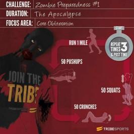 Challenge: Zombie Preparedness