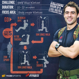Challenge: BMF Blue Workout