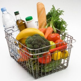 Which fresh groceries are healthy?